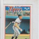Alan Trammell 1987 Topps Minis #79 Tigers