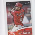 Billy Hamilton Future Is Now Trading Card Single 2014 Topps Mini #FNM12 Reds