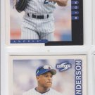 Rickey Henderon Lot of (2) 1998 Score #18 Angels NMT