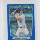 Bubba Starling Blue Cream of the Crop Mini 2014 Bowman Chrome Royals 221/250