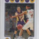 Luke Walton Trading Card Single 2008-09 Topps Chrome #144 Lakers