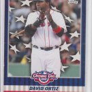 David Ortiz Flapper Card Insert 2008 Topps Opening Day #FC-DO Red Sox