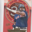 Mo Vaughn Top 30 Insert 1997 Fleer Ultra #16/30 Red Sox