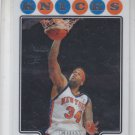 Eddy Curry Trading Card Single 2008-09 Topps Chrome #154 Knicks