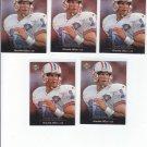 Cody Carlson Trading Card Lot of (10) 1995 Upper Deck #220 Cody Carlson Oilers