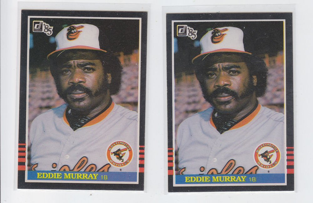 Eddie Murray Trading Card Lot of (2) 1985 Donruss #47 Orioles NMT *BILL