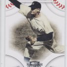 Don Larsen Trading Card Single 2008 Donruss Threads #34 Yankees