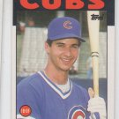 Terry Francona Trading Card Single 1986 Topps Traded #38T Cubs