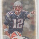 Tom Brady Trading Card Single 2008 UD Masterpieces #84 Patriots