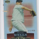 David Wells Trading Card Single 2006 Upper Deck Epix #30 Red Sox 371/450