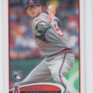 David Carpenter Trading Card Single 2012 Topps Update Series RC #US321 Angels