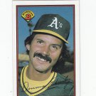 Dennis Eckersley Oversize Trading Card Single 1989 Bowman #190 Athletics