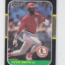 Ozzie Smith Trading Card Single 1987 Donruss #60 Cardinals  *BILL