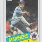 Mark Langston Rookie Trading Card Single 1985 Topps #625 Mariners *BILL
