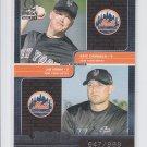 Jim Mann Eric Cammack RC Rookies 2000 Pacific Omega #198 Mets 647/999 *BILL