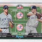 Ian Clarkin Aaron Judge Draft Day Insert 2013 Bowman #DD-JC Yankees