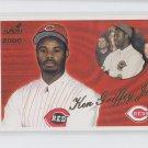 Ken Griffey Jr Trading Card Single 2000 Aurora #123 Reds *BILL