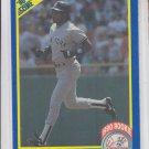 Deion Sanders Trading Card Single 1990 Score RC #586 Yankees