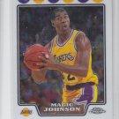 Magic Johnson Trading Card Single 2008-09 Topps Chrome #171 Lakers