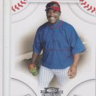 Tim Raines Trading Card Single 2008 Donruss Threads #37 Expos