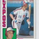 Terry Francona Trading Card Single 1984 Topps #496 Expos