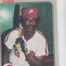 Gary Matthews Trading Card Single 1983 Fleer #165 Phillies
