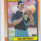 Don Mattingly Trading Card Single 1990 Topps #200 Yankees