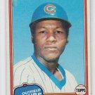 Jesus Fegueroa Trading Card Single 1981 Topps #533 Cubs NMT
