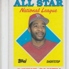 Ozzie Smith Trading Card Single 1988 Topps #400 Cardinals AS