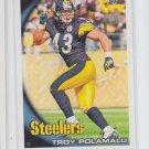Troy Palamalu Trading Card Single 2010 Topps #106 Steelers