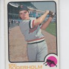 Eric Soderholm Baseball Trading Card Single 1973 Topps #577 Twins EX+  *BILL