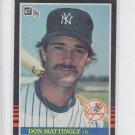 Don Mattingly Trading Card Single 1985 Donruss #295 Yankees  *BILL
