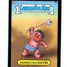 Dominated David Black Parallel 2013 Topps Garbage Pail Kids Mini #83a