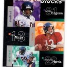 Bobby Engram Rick Mirer Raymond Harris 1997 UD Collector's Choice #357 Bears