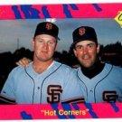 Will Clark Matt Williams Hot Corners 1990 Classic Update #T11 Giants