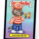 Sheepish Seth Black Parallel SP 2013 Topps Garbage Pail Kids MIni #85a