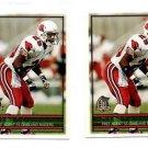 Lorenzo Lynch Trading Card Lot of (2) 1996 Topps #313 Raiders