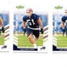 Paul Posluszny RC Trading Card Lot of (3) 2007 Score #382 Bills