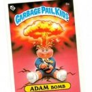 Adam Bomb Checklist Variation SP Sticker 1985 Topps Garbage Pail Kids UK #8a
