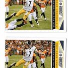 Ben Roethlisberger Trading Card Lot of (2) 2013 Score #165 Steelers