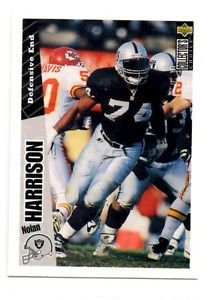 Nolan Harrison Tradng Card Single 1996 UD Collector's Choice #309 Raiders