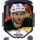 Patrice Bergeron Portraits Insert 2015-16 Upper Deck Series 1 #P-46 Bruins