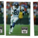 Anthony Carter Trading Card Lot of (3) 1993 Playoff Contenders #16