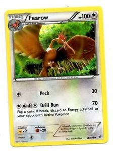 Fearow Uncommon Trading Card Single Pokemon XY Roaring Skies 66/108 x1