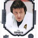 Phil Espisito Portraits Legends Insert 2015-16 Upper Deck Series 1 #P-51 Bruins