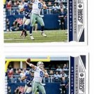 Tony Romo Trading Card Lot of (2) 2013 Score 54 Cowboys