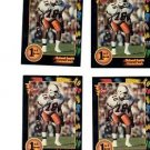 Roland Smith Trading Card Lot of (4) 1991 Wild Card Draft #12