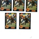 Greg Amsler Trading Card Lot of (5) 1991 Wild Card #16