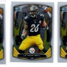 Le'Veon Bell Trading Card Lot of (3) 2014 Bowman Chrome #51 Steelers