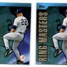 Roger Clemens Ring Masters Trading Card Lot of (2) 2001 Topps #RM7 NMT